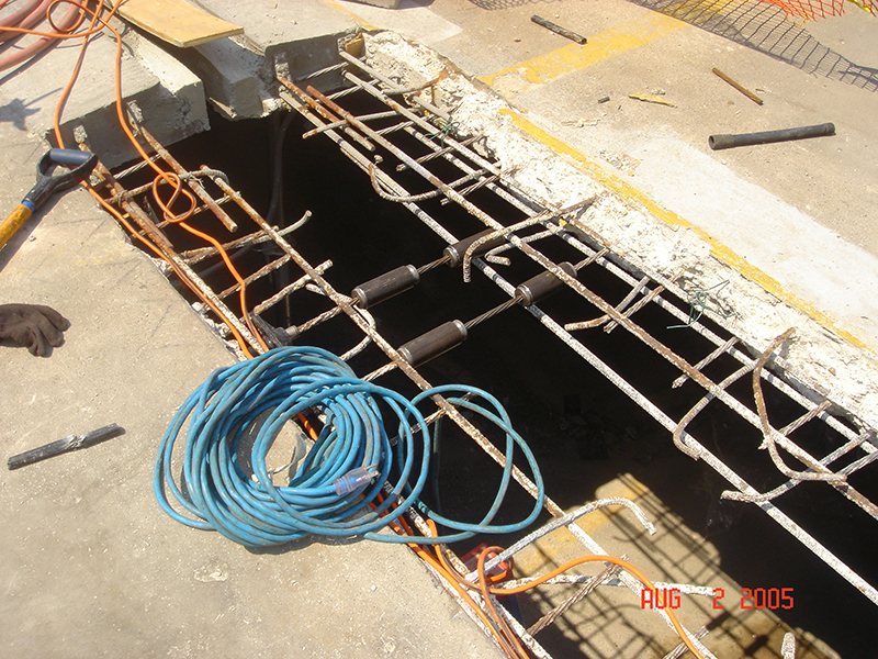 Post Tension Cable Repair